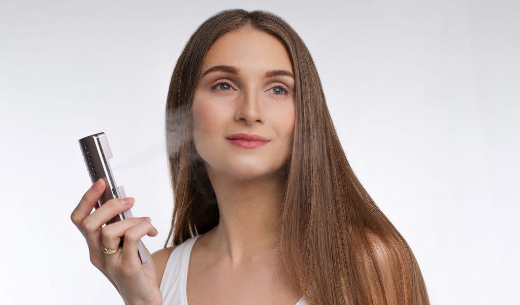Наноспрей для увлажнения сухой кожи лица